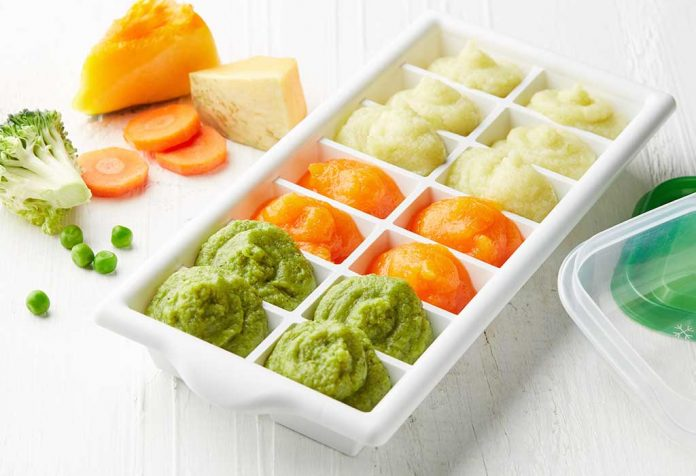 Freezing Baby Food - Tips and Precautions to Consider