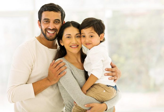 Parenting is sharing a bundle of joy with equal responsibility!