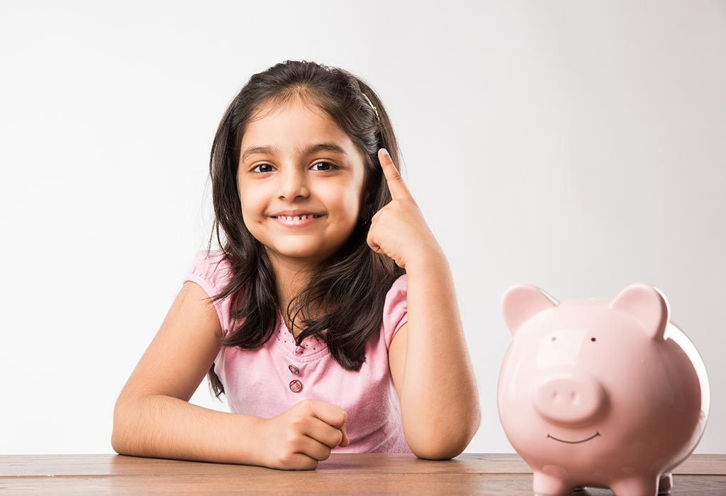 Teaching kids to save money