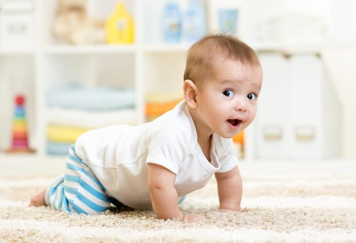 How to make house childproof for little ones while crawling?