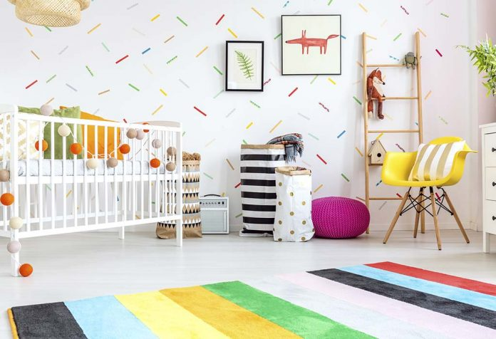 Preparing Home and Making Up Baby's Room to Welcome the Arrival of Newborn