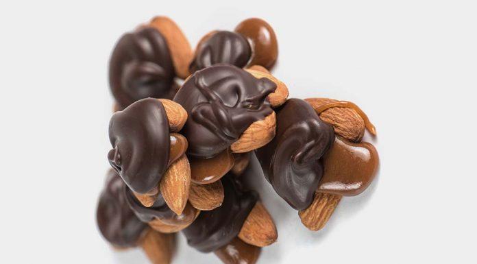 Chocolate Almonds Turtles Recipe