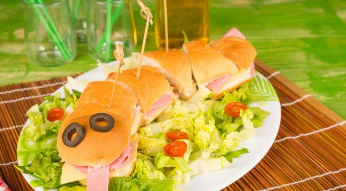 Snake Sandwich Platter