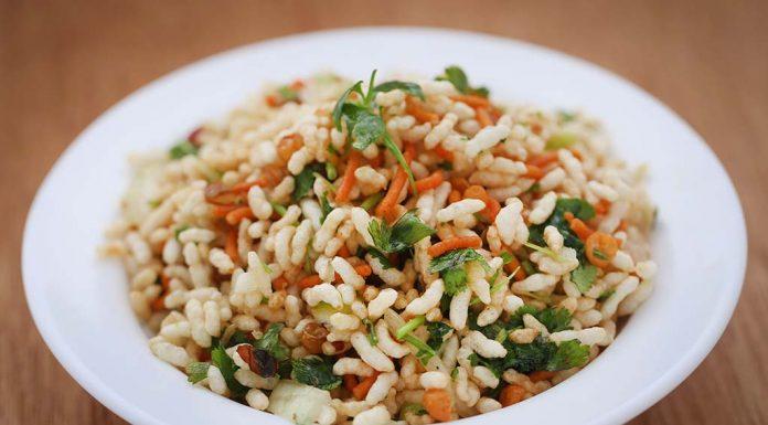 Jhaal Muri Spiced Puffed Rice Mix Recipe
