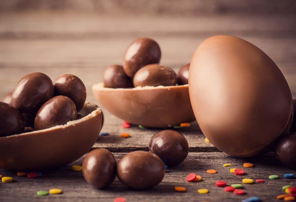 Choco Peanut Butter Eggs
