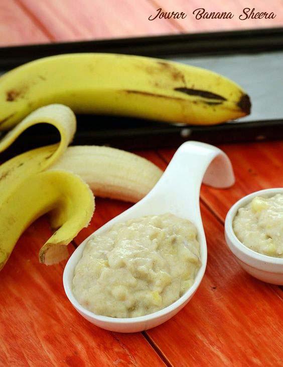 jowar banana sheera