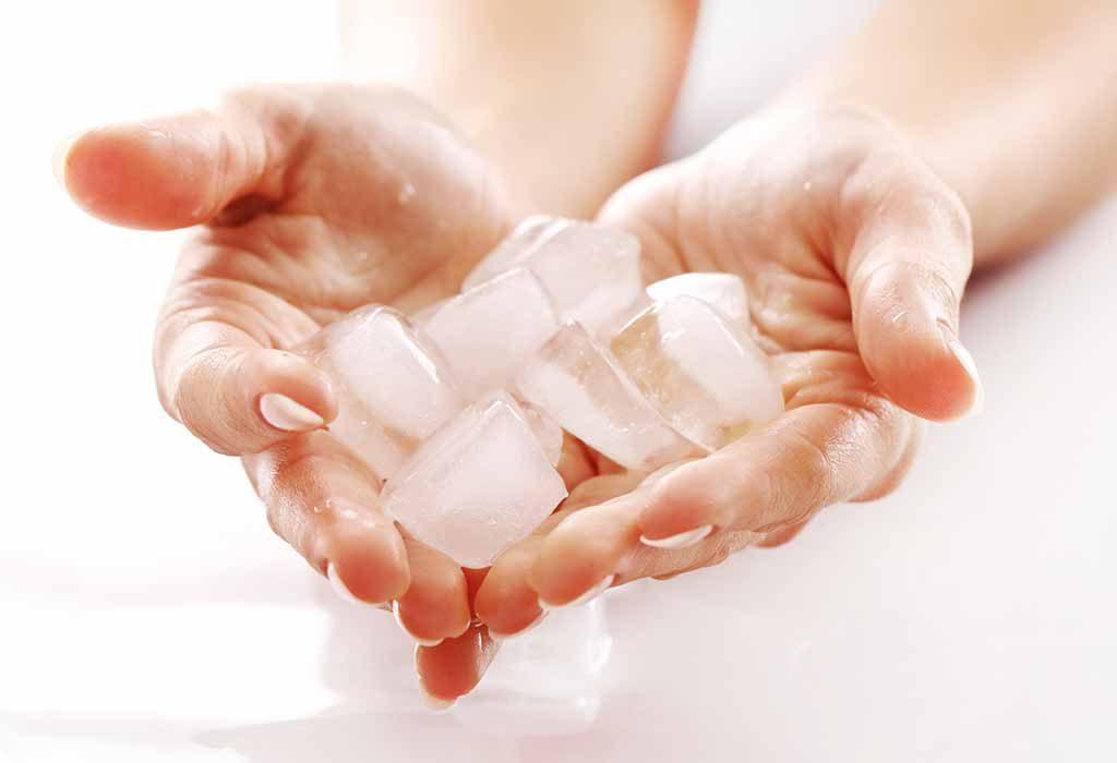 Ice massage