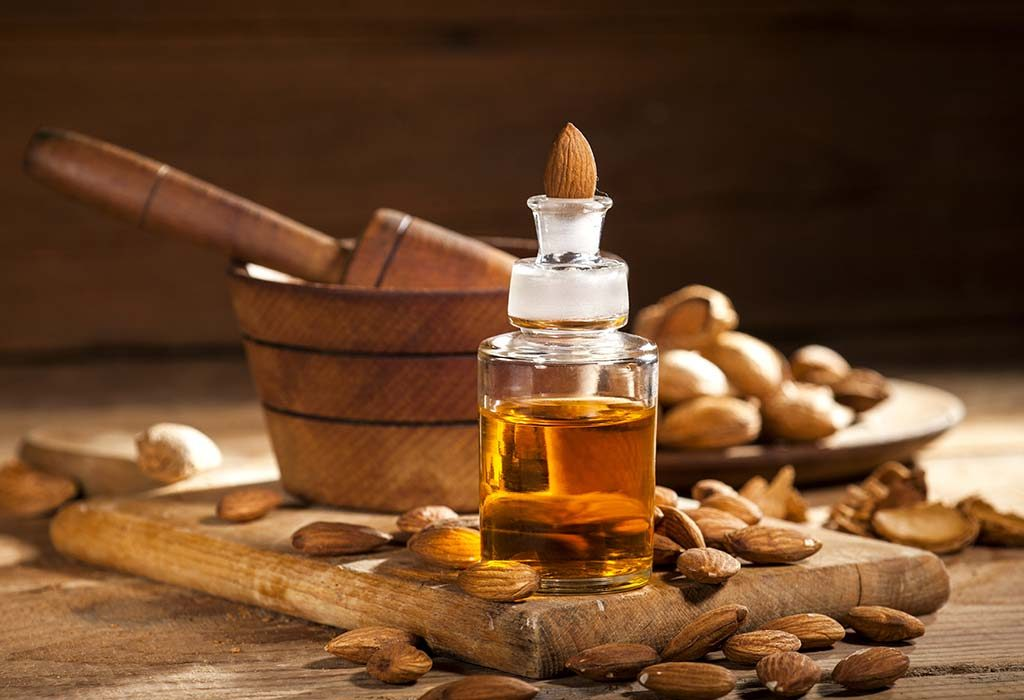 Almond oil for healthy breasts