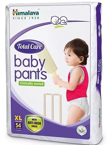 Himalaya Herbal Total Care Baby Pants Style Diapers