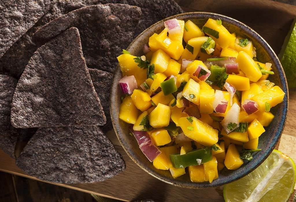 Raw Mango and Sweet Corn Salad
