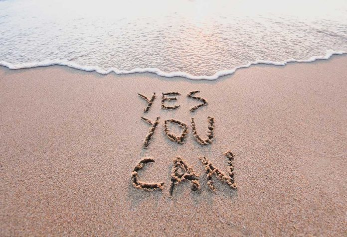 Its Because the Voice Within Me Always Says 'Yes You Can'