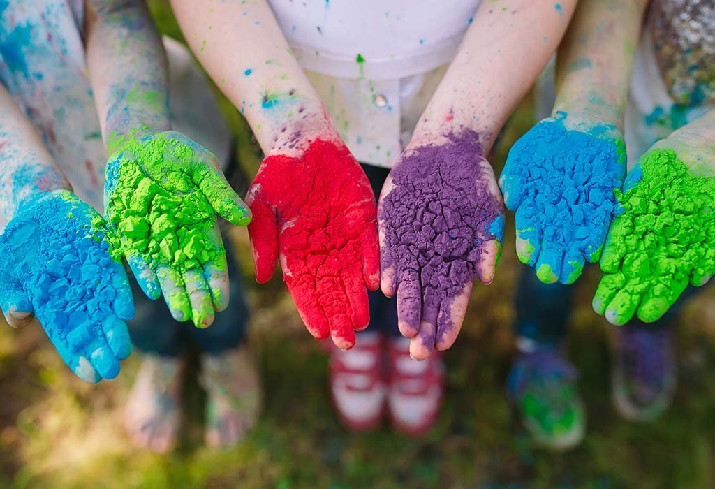 stock up on organic, non toxic colours