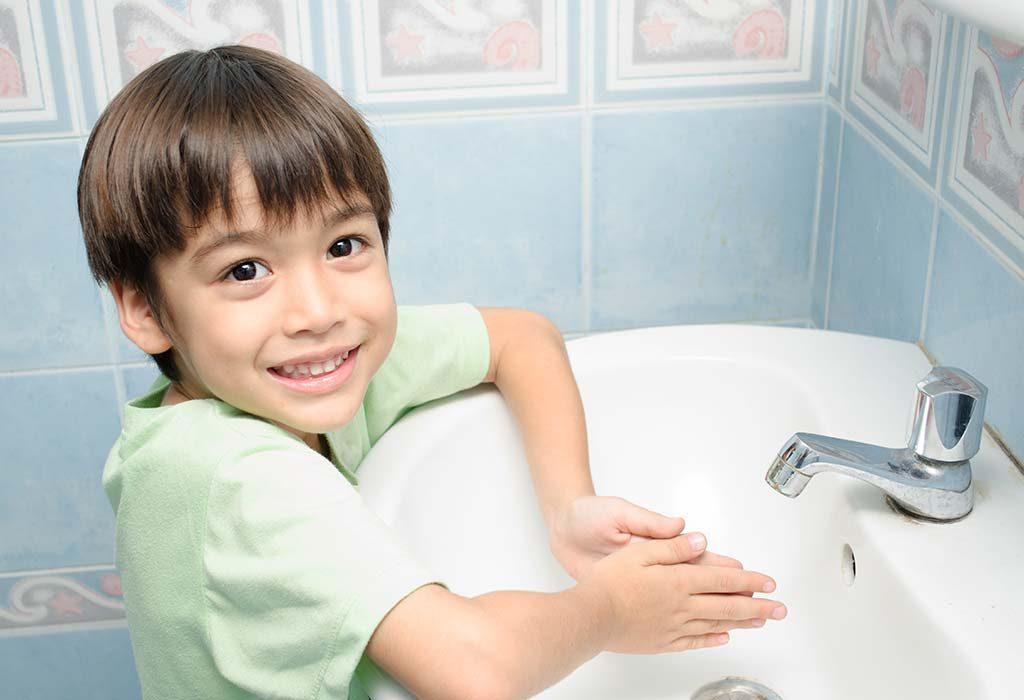 Make handwashing fun
