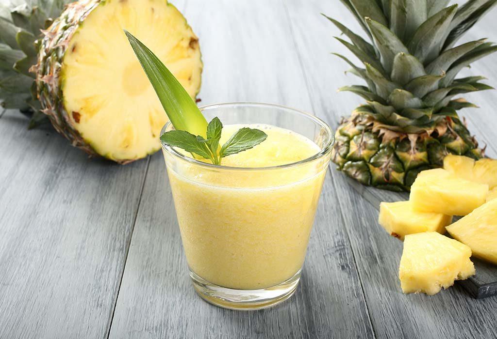 pineapple lassi