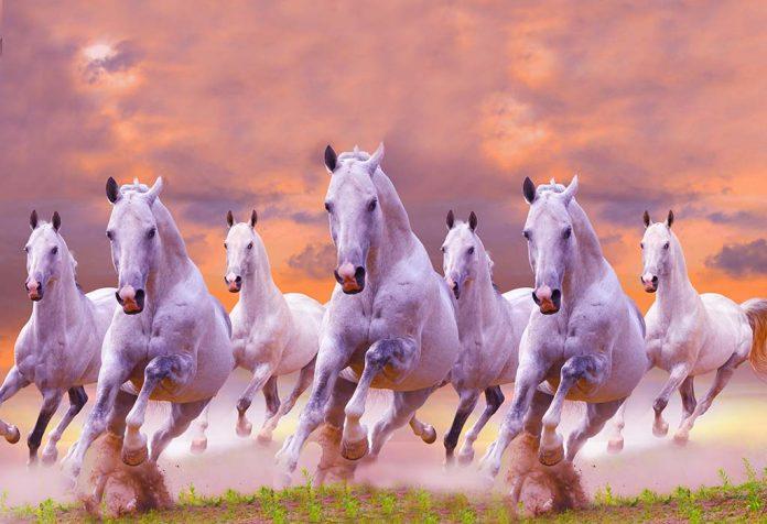 Significance of 7 Galloping Horses As Per Vastu Shastra