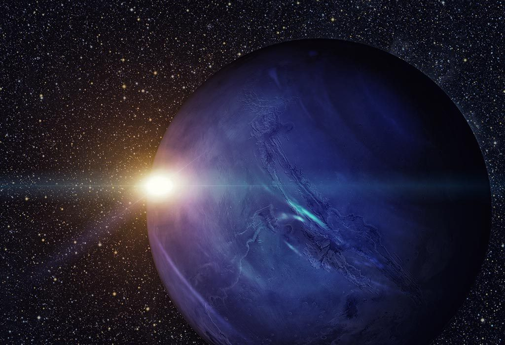 earth is as small as neptune's core