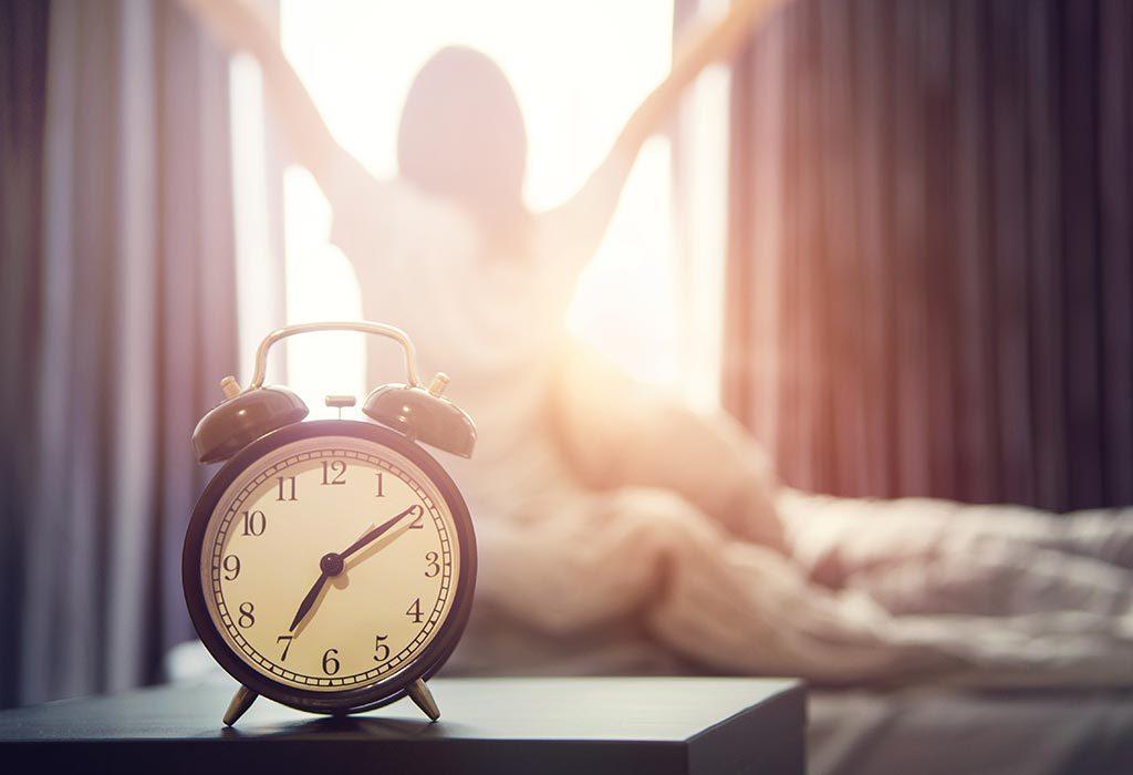 sleep early and wake up early