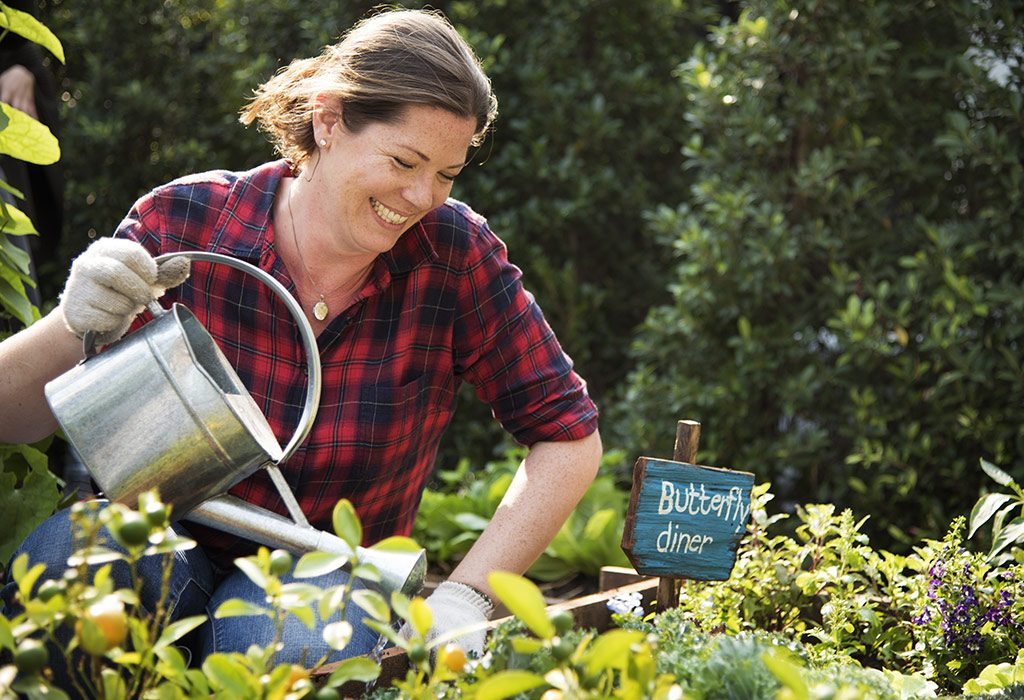 gardening for a stress-free and happy life