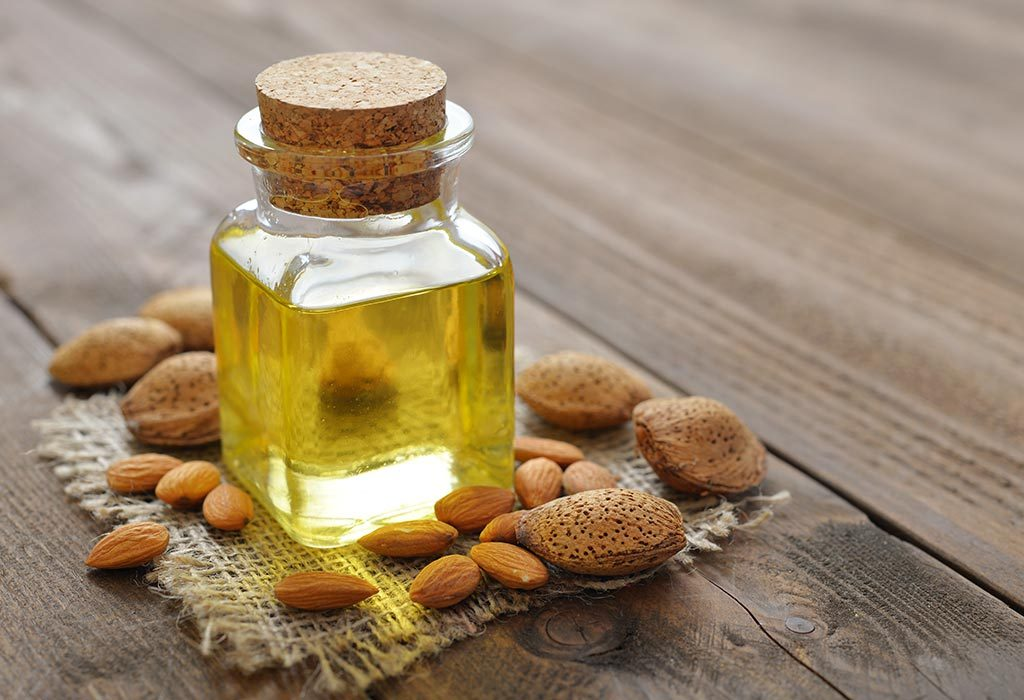 Sweet almond oil for hands