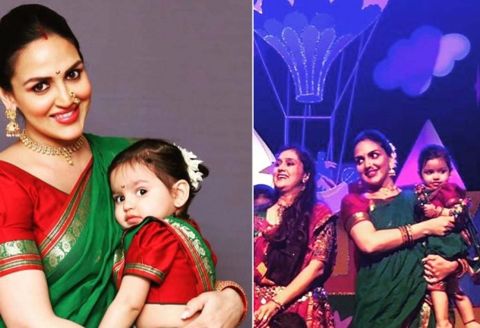 Esha Deol dances with her daughter Radhya
