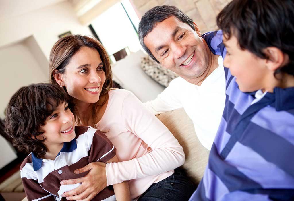 Conversations between family members