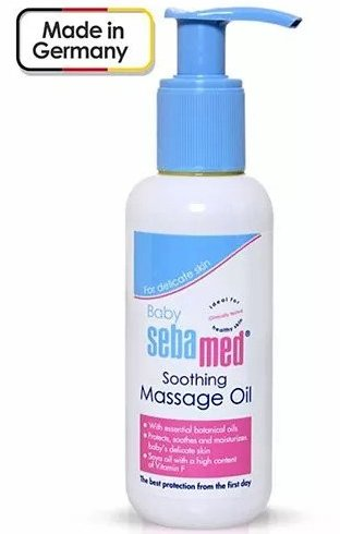 Sebamed Soothing Baby Massage Oil