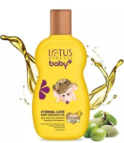 Lotus Herbals Baby Massage Oil