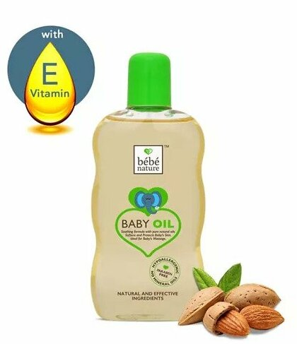 Bebe Nature Natural Baby Massage Oil