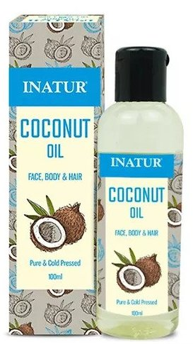 Inatur Herbals Coconut Skin & Hair Oil