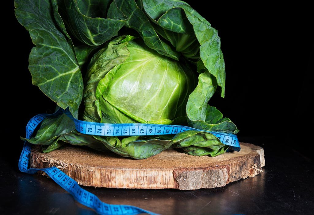 Weight loss with cabbage