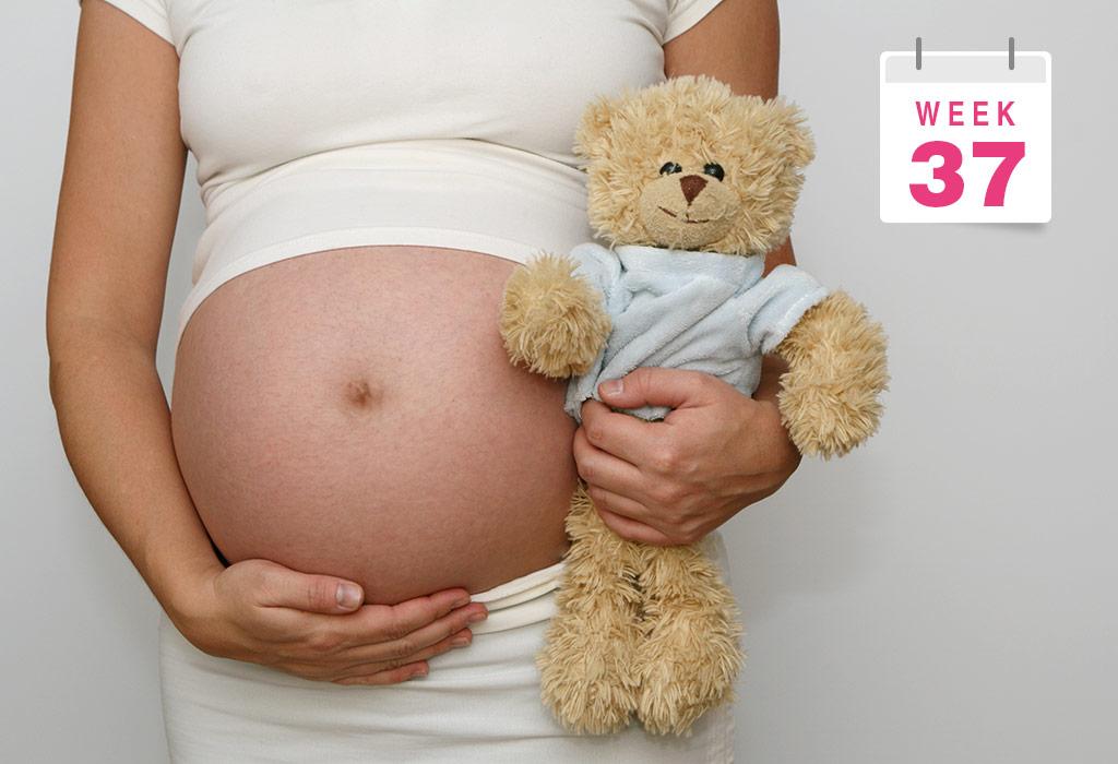 गर्भधारणा: ३७वा आठवडा