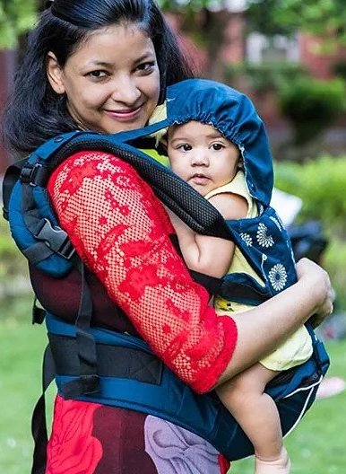 Kiddale 3 in 1 Baby Carrier