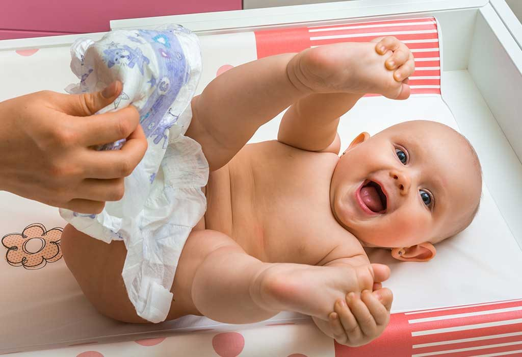 Using diapers does not cause a rash
