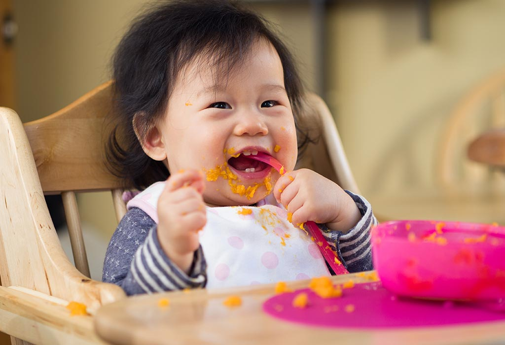 Food Ideas for an Eight-Month-Old Baby
