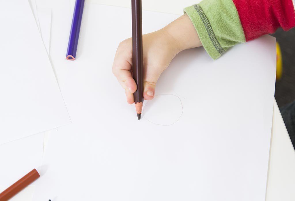 Helps child improve handwriting