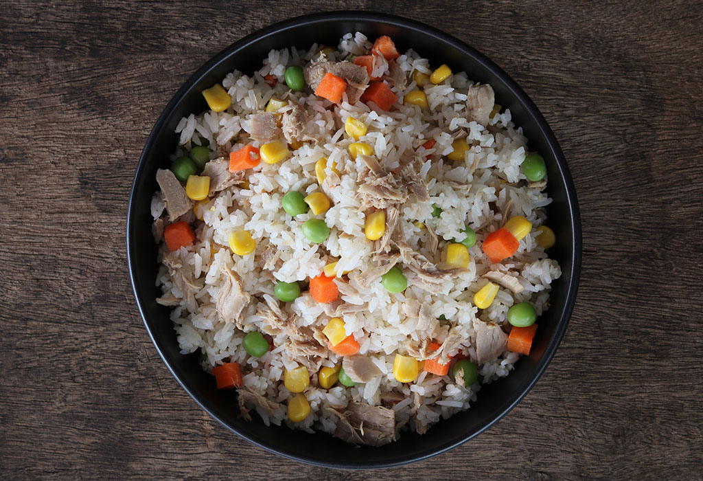 Creamy Carrot and Sweet Corn Rice