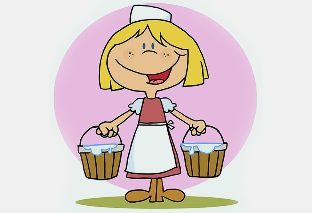 The Milkmaid and Her Pail story