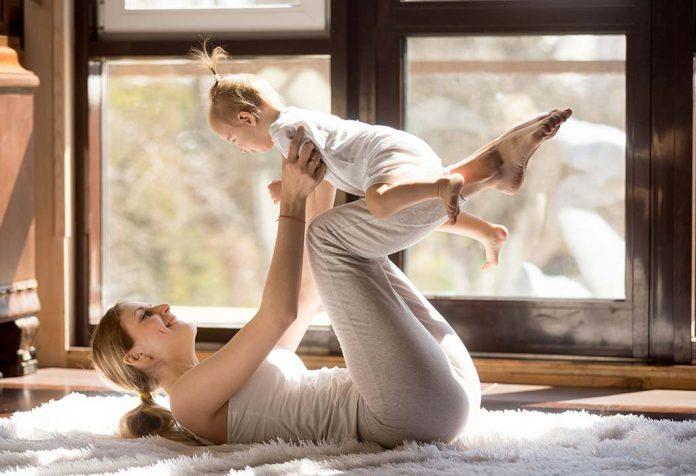 Kangatraining - A Postnatal Workout With My Baby