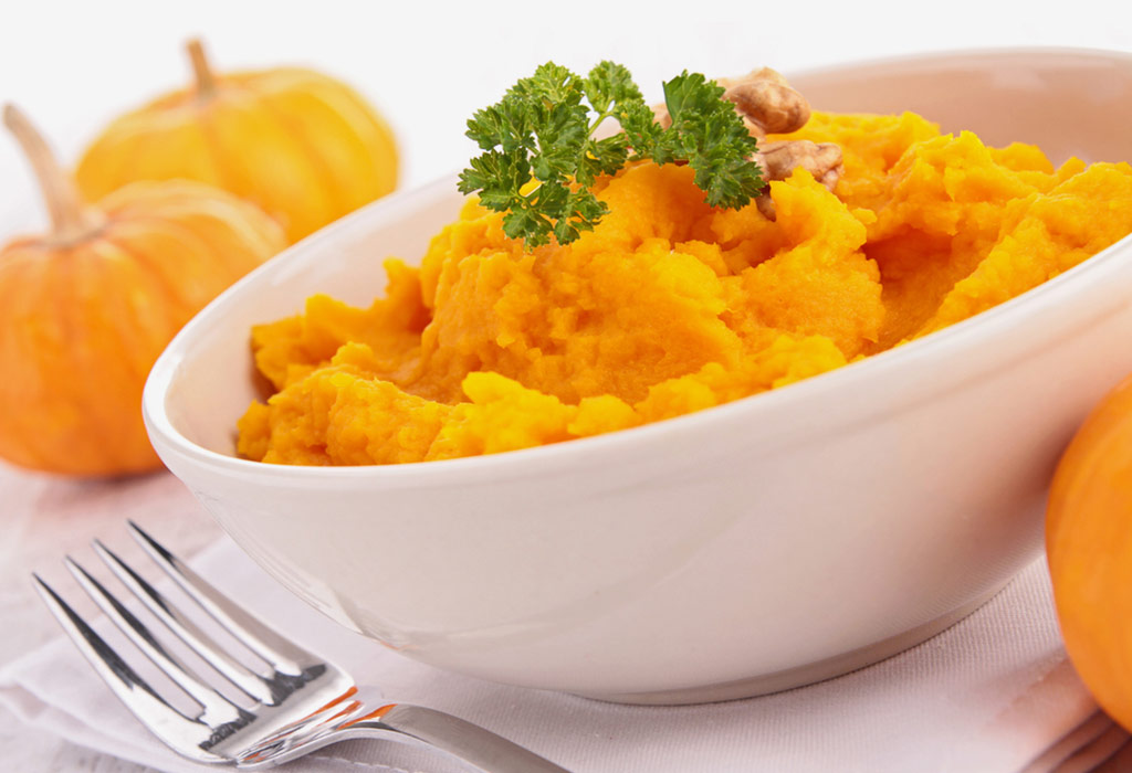 Sweet Pumpkin Puree