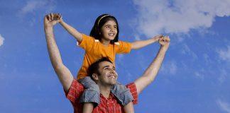 पापा भी हमें माँ जितना ही प्यार करते हैं, लव यू पापा