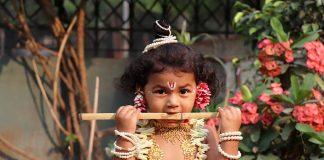 Celebrating Janmashtami With My Child