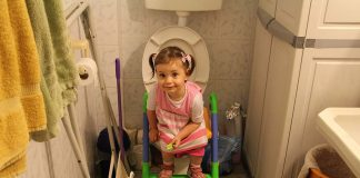 How I Potty Trained My Baby