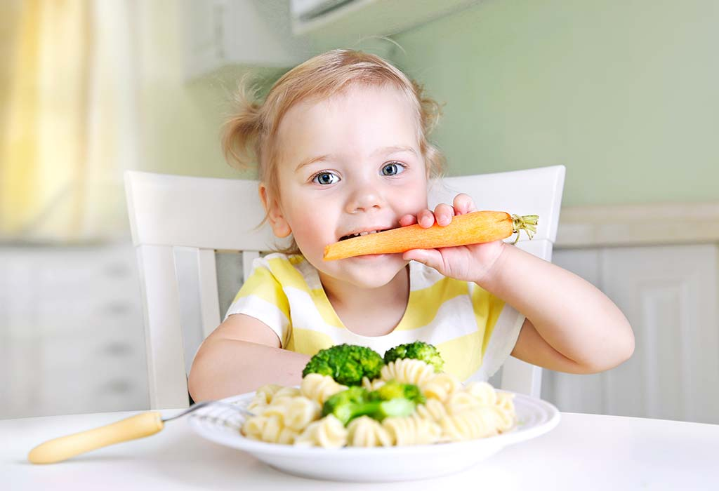 Diet Plan for 13 Month 3 Week Old Toddler