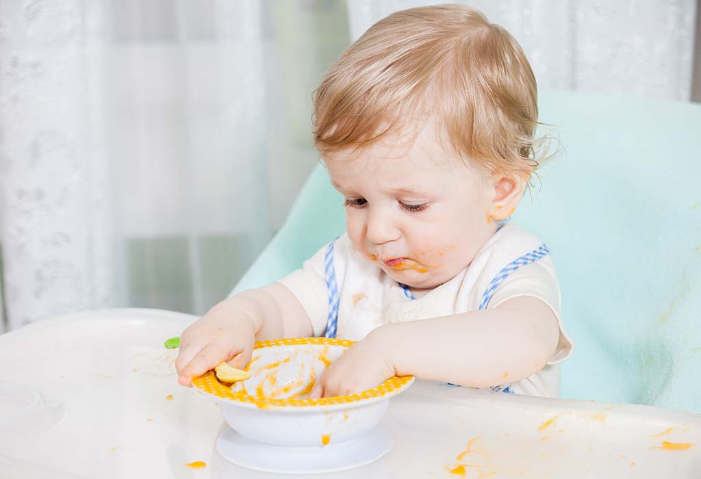 Diet Plan for 20 Month 4 Week Old Toddler