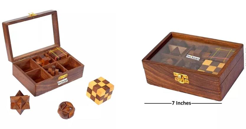 Desi Karigar wooden puzzle