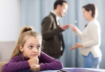 here's what you should do when your child sees you arguing with your spouse