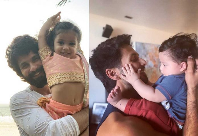 Shahid Kapoor opens up about fatherhood