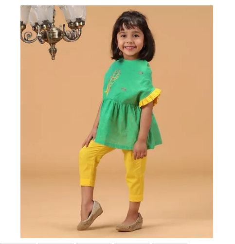 Top and Pants for Girls