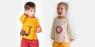 10 Fashionable Ethnic Outfits for Your Baby's First Diwali Under Rs. 999!