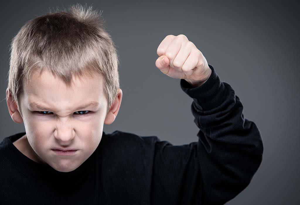 aggressive kid